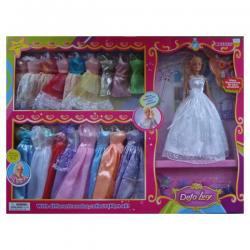 Купить набор платьев для куклы барби