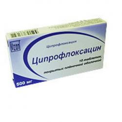 Антибиотик ципрофлоксацин инструкция цена
