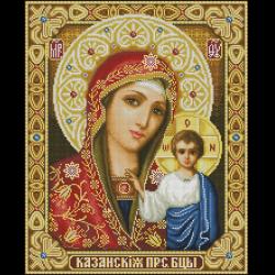 Схемы вышивки иконы крестом стоянкой ивановой