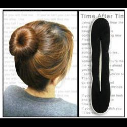 Заколка для волос из волос