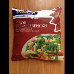 Замороженная овощная смесь своими руками 178