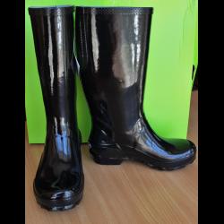6cf642dc3d20 Отзывы о Сапоги женские Crocs Black Tall Rain Boot