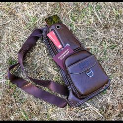 4d804ff0b2b6 Отзывы о Мужская кожаная наплечная сумка Jeep