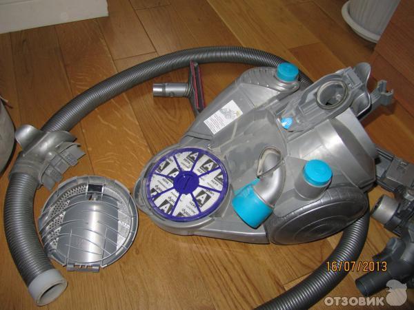 Как достать фильтр из пылесоса дайсон аккумуляторы dyson