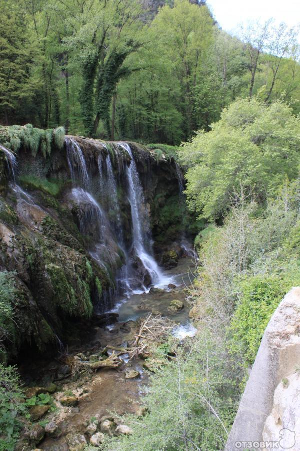 мраморные водопады сполето фото получение