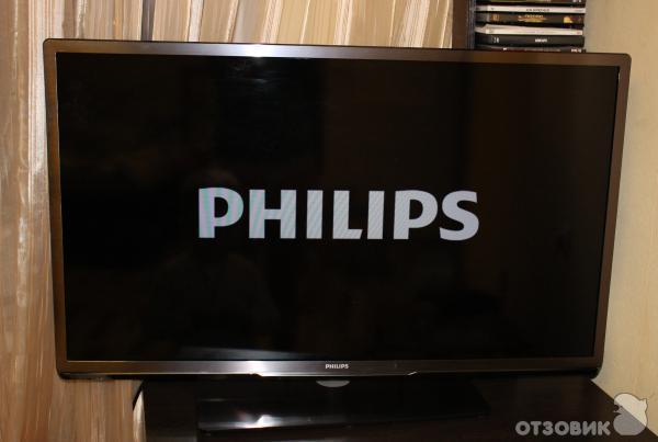 не показывает картинка на телевизоре филипс которая изначально