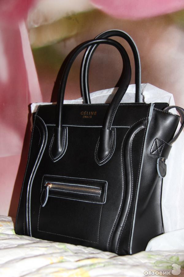 93b2ffcc116c Отзыв о Сумка Celine Luggage black   моя идеальная сумочка + как ...