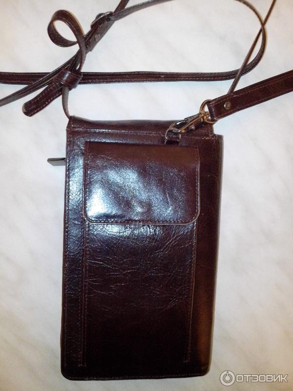 03d1f6d19853 Отзыв о Мужская кожаная сумка-планшет Petek | Маленькая,легкая ...