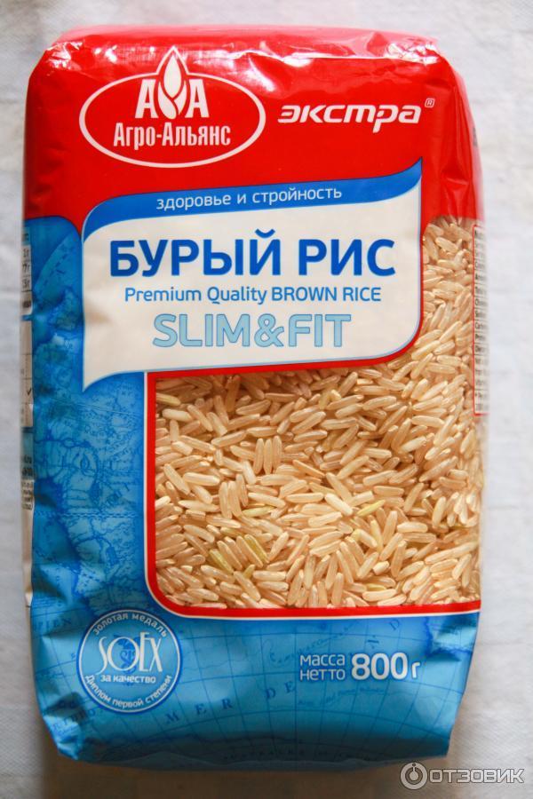 Коричневый рис похудение отзывы