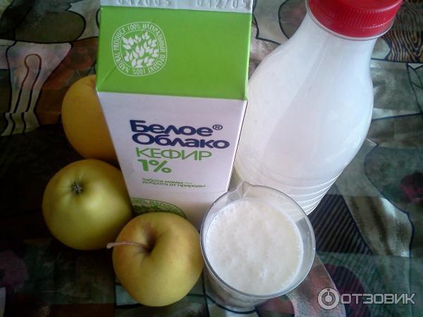 Кефирно-яблочная диета не только избавит от лишнего веса, но и.