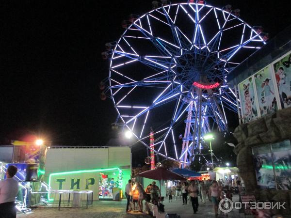колесо обозрения лазаревское фото