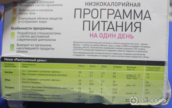 Программы похудения санаторий отзыв