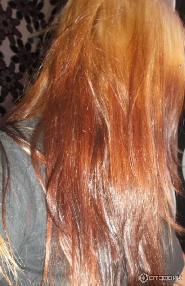 Как осветлить темные волосы до рыжего цвета