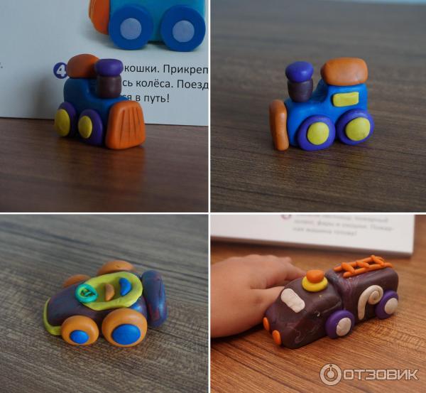 Картинки как сделать машину из пластилина