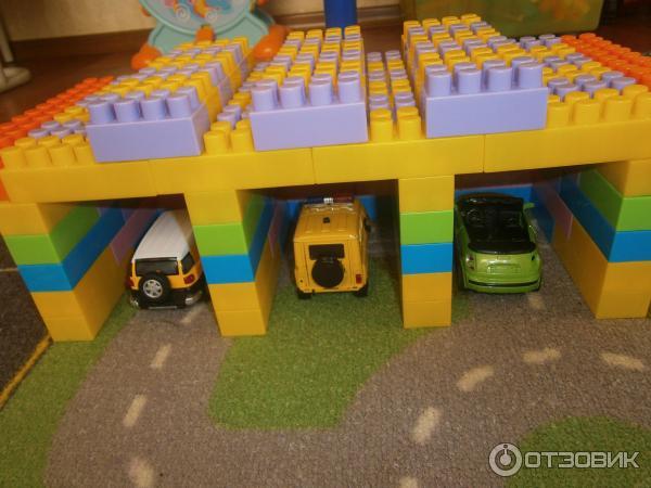 стильные картинки гаража из кубиков что