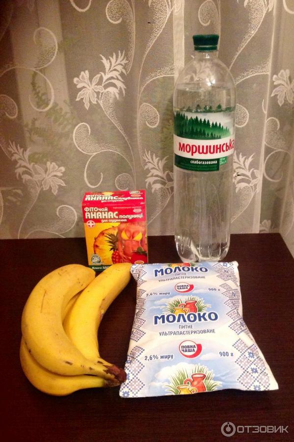 Банановая диета на 3 дней меню