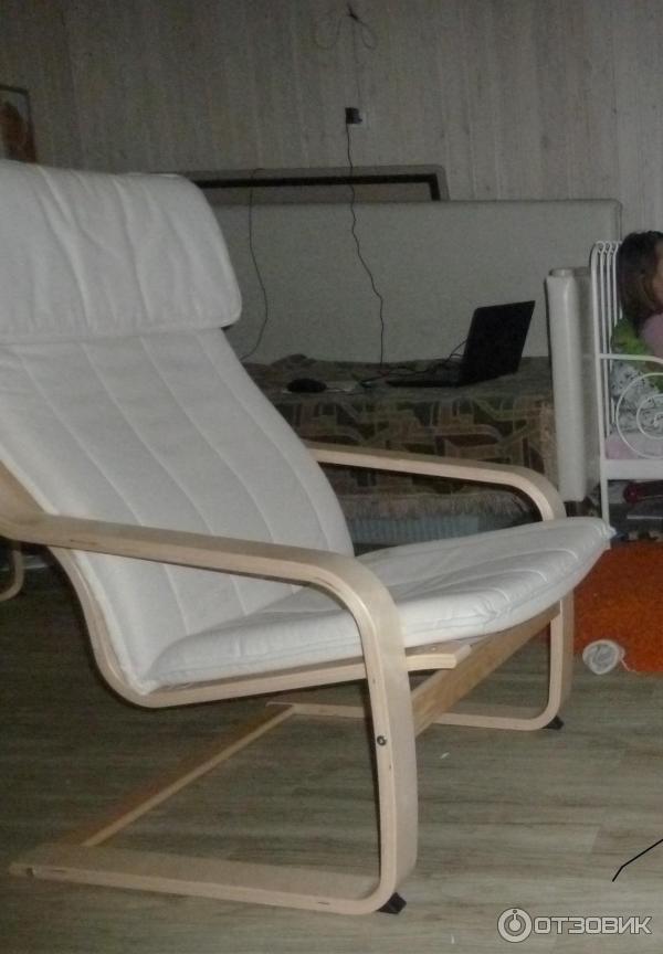 отзыв о кресло Ikea поэнг лучше кресла качалки и дешевле