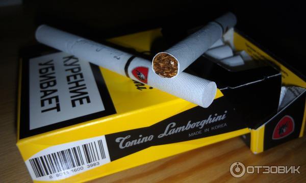 ламборджини сигареты купить