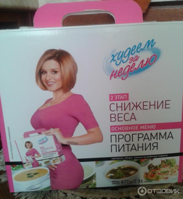 Бородина Похудела Диета.