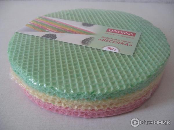 Коржи для торта вафельные картинки