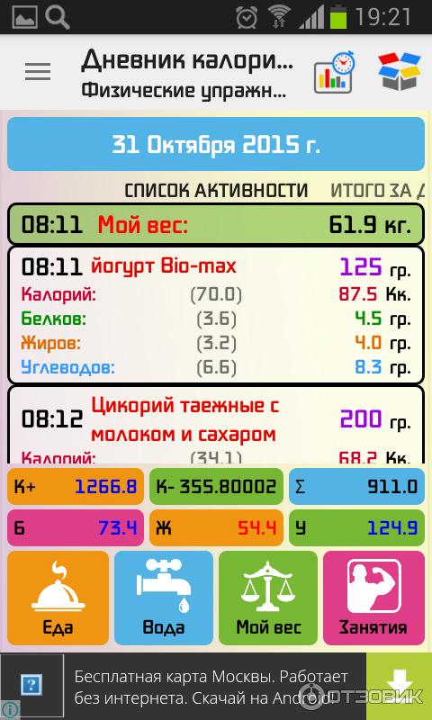 Приложения На Андроид Для Похудения. Рейтинг лучших приложений для похудения на Android и iOS
