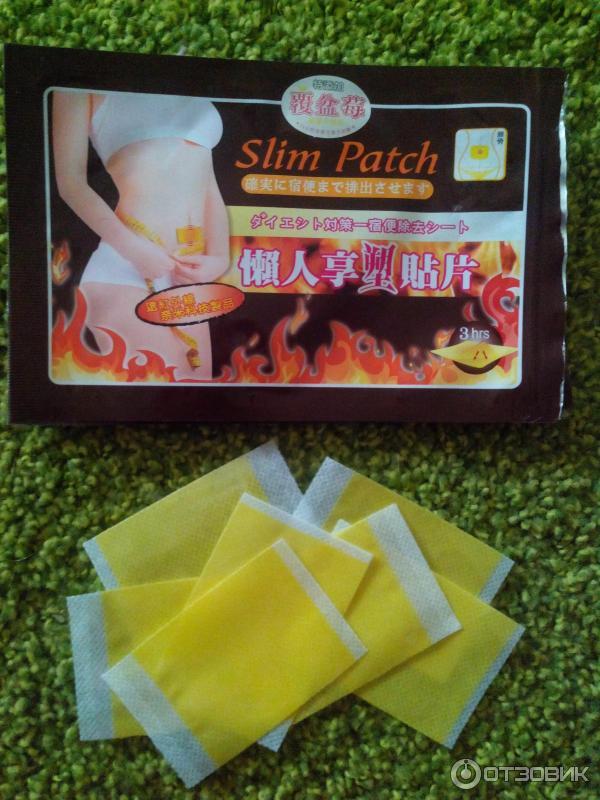 Пластырь от похудения slim patch