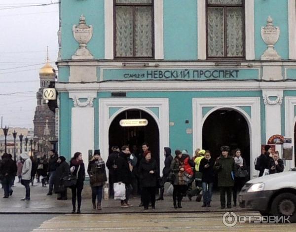 Картинки из метро невский проспект