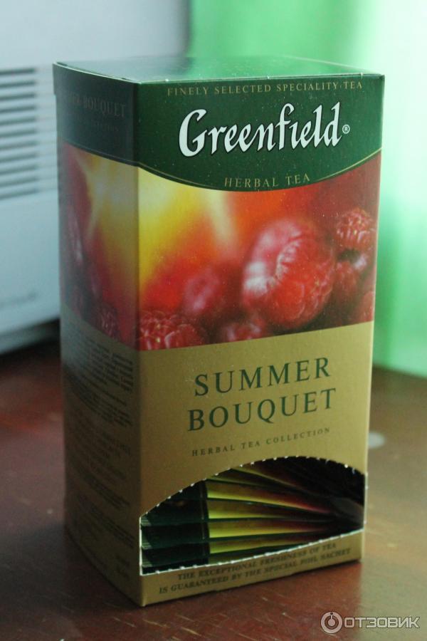 Доставка, чай гринфилд саммер букет отзывы