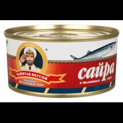 сайра в томате консервы