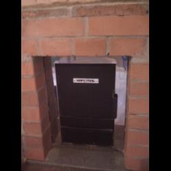 Дымоход для печи фея как украсить дымоход в своем доме