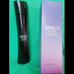 отзывы о парфюмированная вода Giorgio Armani Code Cashmere женская