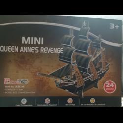 отзывы о пазл Cubic Fun Mini Queen Annes Revenge