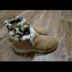 Отзыв о Утепленные женские ботинки Skechers   удобные, теплые, не ... 5bd759efc51