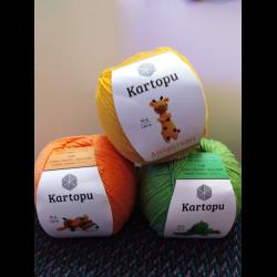Пряжа Kartopu AMIGURUMI купить в интернет-магазине Кудель | 250x250
