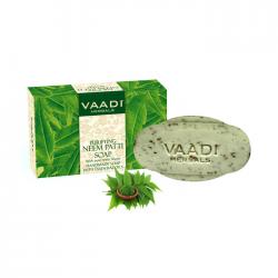 Отзывы о Антибактериальное мыло Vaadi Herbals Neem Patti