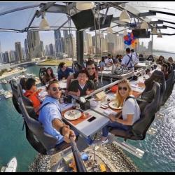 Ресторан в воздухе дубай болгария солнечный берег аппартаменты