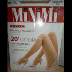 fc6fe1fedfd3 Отзывы о Женские колготки Minimi Vittoria 20 Den