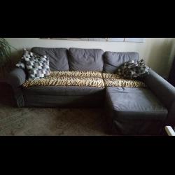 Отзывы о Диван-кровать с козеткой Икеа Баккабру Мариебю 4ae835b2c49