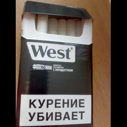 Сигареты вест без фильтра с мундштуком купить цена сигарет оптом в самаре