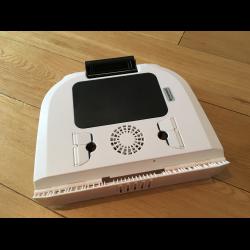 Складной столик для ноутбука kromax satellite larsen массажер